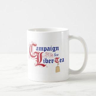 Campaign for Liber-Tea Classic White Coffee Mug