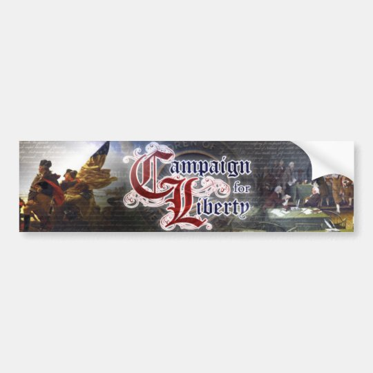 Campaign for Liberty Colour Logo Bumper Sticker