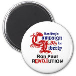 Campaign For Liberty Ron Paul 6 Cm Round Magnet