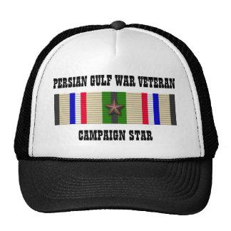 CAMPAIGN STAR / PERSIAN GULF WAR VETERAN HATS
