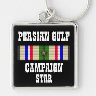 CAMPAIGN STAR PERSIAN GULF WAR VETERAN KEY CHAINS