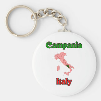 Campania Italy Basic Round Button Key Ring