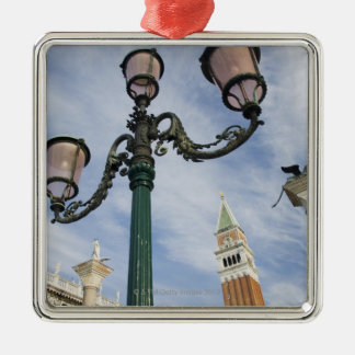 Campanile in the Piazza San Marco Venice Italy Christmas Ornament