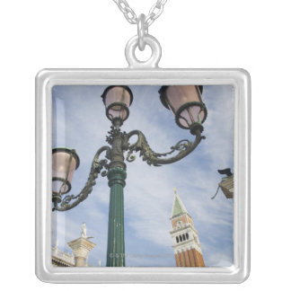 Campanile in the Piazza San Marco Venice Italy Silver Plated Necklace