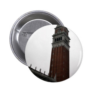 Campanile Piazza San Marco 6 Cm Round Badge