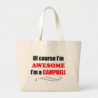 Campbell Awesome Family Large Tote Bag