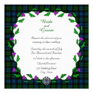 Campbell Celtic Wedding Invitation