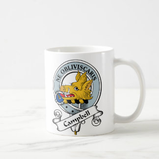 Campbell Clan Badge Coffee Mug