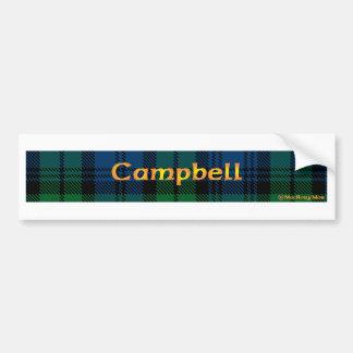 Campbell Clan Bumper Sticker