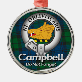 Campbell Clan Christmas Ornament