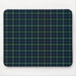 Campbell Clan Tartan Navy Blue Plaid Mouse Mat
