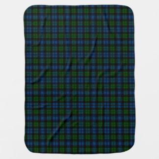 Campbell Clan Tartan Plaid Pattern Receiving Blanket