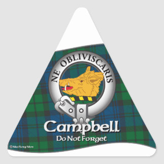 Campbell Clan Triangle Sticker