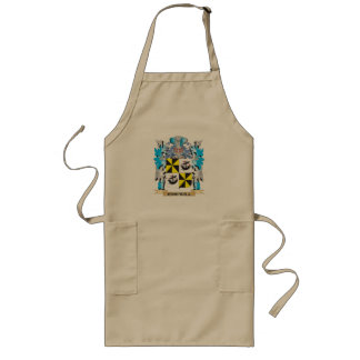 Campbell-- Coat of Arms - Family Crest Long Apron