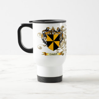 Campbell Coat of Arms Stainless Steel Travel Mug