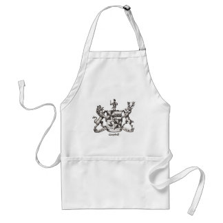 CAMPBELL FAMILY CREST APRONS
