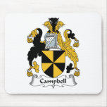 Campbell Family Crest Mouse Pad