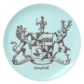 CAMPBELL FAMILY CREST PLATE