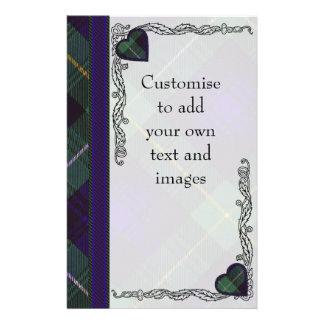 Campbell of Argyll clan Plaid Scottish tartan 14 Cm X 21.5 Cm Flyer