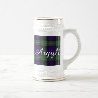 Campbell of Argyll clan Plaid Scottish tartan Beer Stein