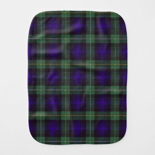Campbell of Argyll clan Plaid Scottish tartan Burp