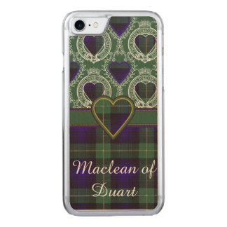 Campbell of Argyll clan Plaid Scottish tartan Carved iPhone 8/7 Case