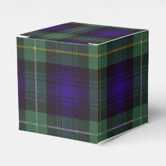 Campbell of Argyll clan Plaid Scottish tartan Favour Box