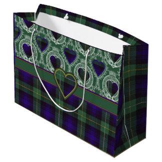 Campbell of Argyll clan Plaid Scottish tartan Large Gift Bag