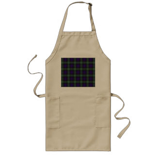 Campbell of Argyll clan Plaid Scottish tartan Long Apron