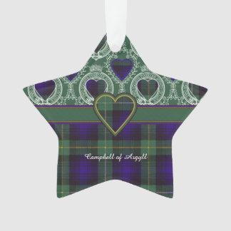 Campbell of Argyll clan Plaid Scottish tartan Ornament