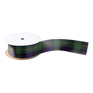 Campbell of Argyll clan Plaid Scottish tartan Satin Ribbon