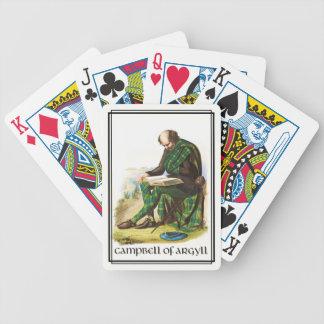 Campbell of Argyll Classic Scotland Poker Deck