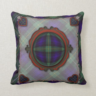 Campbell of Argyll Scottish clan tartan - Plaid Cushion