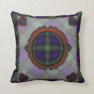 Campbell of Argyll Scottish clan tartan - Plaid Throw Pillow
