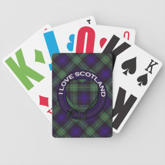 Campbell of Argyll Scottish Tartan Bicycle Playing Cards