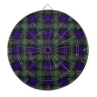 Campbell of Argyll Scottish Tartan Dartboard
