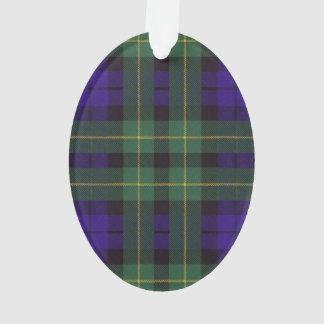 Campbell of Breadalbane Plaid Scottish tartan Ornament