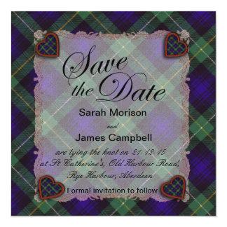 Campbell of Breadalbane Scottish tartan - Plaid Card
