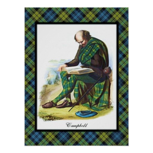 Campbell Scottish Dreams Poster