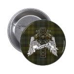 Campbell Tartan Cross Pins