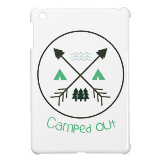 Camped Out iPad Mini Covers