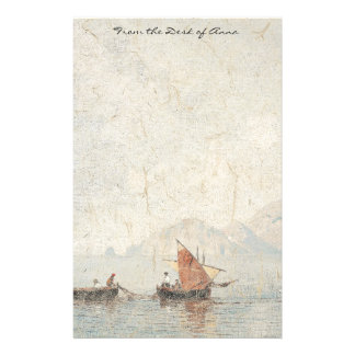 Campenella Islands Fishing Boats Italy Stationery