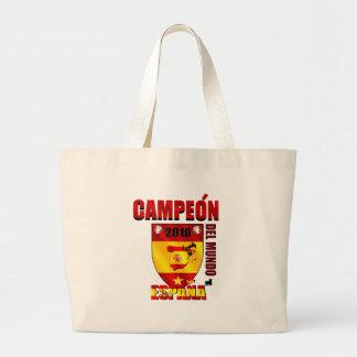Campeón Del Mundo España Bags