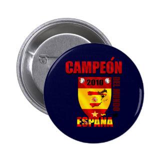 Campeón Del Mundo España Buttons