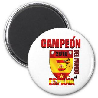 Campeón Del Mundo España Fridge Magnet