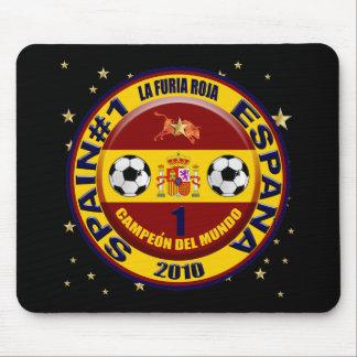 Campeón del mundo España futbol 2010 Mousepads