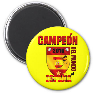 Campeón Del Mundo España Magnet