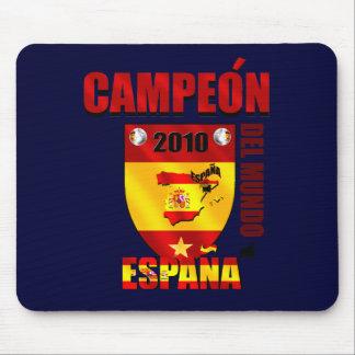 Campeón Del Mundo España Mouse Pads