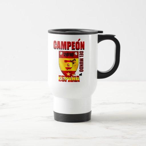 Campeón Del Mundo España Stainless Steel Travel Mug