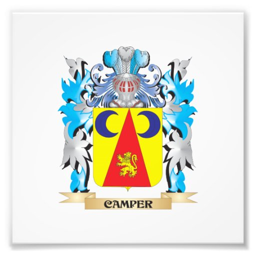 Camper Coat of Arms - Family Crest Photograph